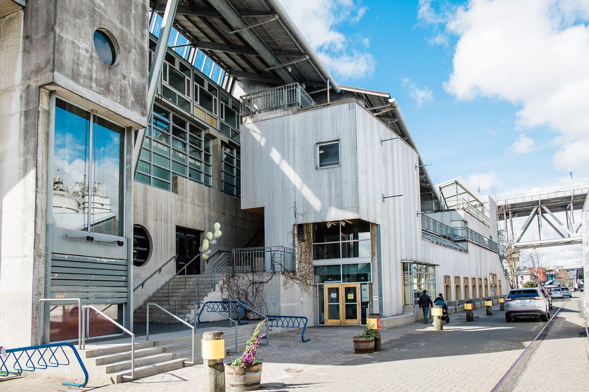 exterior photograph of the new arts umbrella school