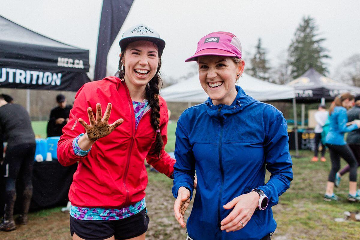 female runners at Mec Series Race