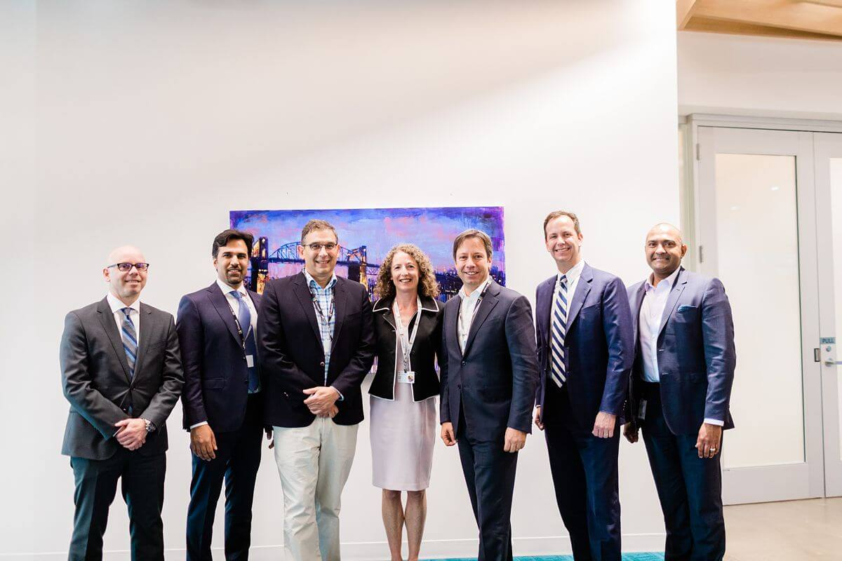 Group photograph of CEO's, Doctors and top industry leaders